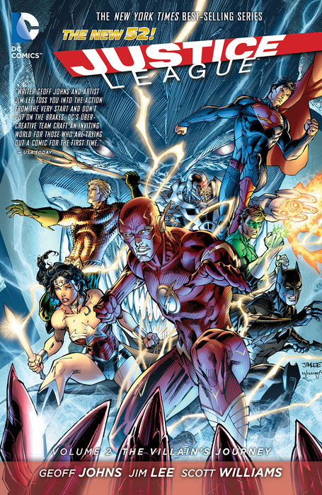 Justice League Vol. 2: The Villain's Journey (The New 52)