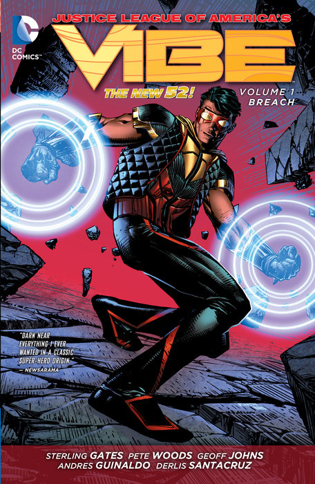 Justice League of America's Vibe Vol. 1: Breach (The New 52)