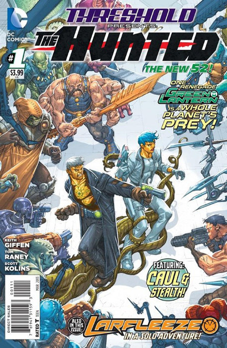 Threshold Vol. 1: The Hunted (The New 52)