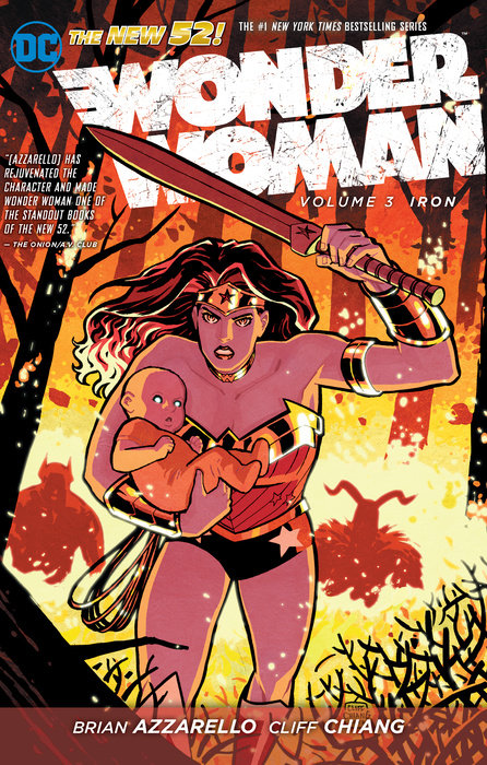 Wonder Woman Vol. 3: Iron (The New 52)