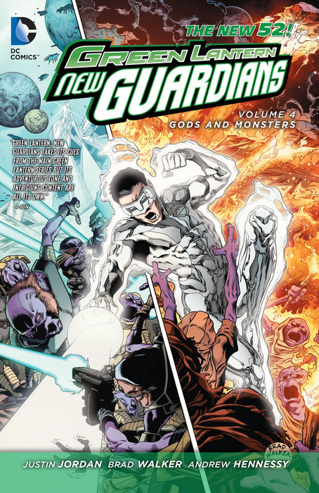 Green Lantern: New Guardians Vol. 4: Gods and Monsters (The New 52)