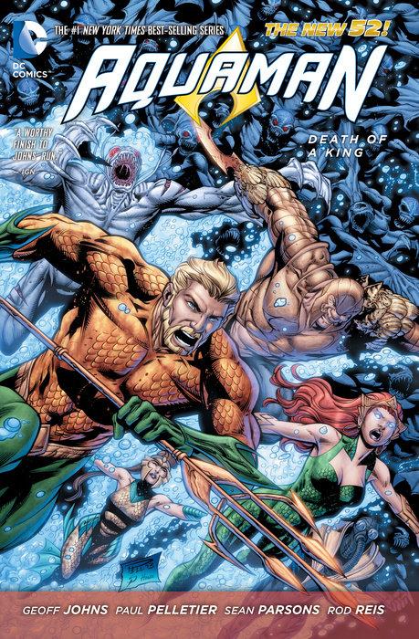 Aquaman Vol. 4: Death of a King (The New 52)