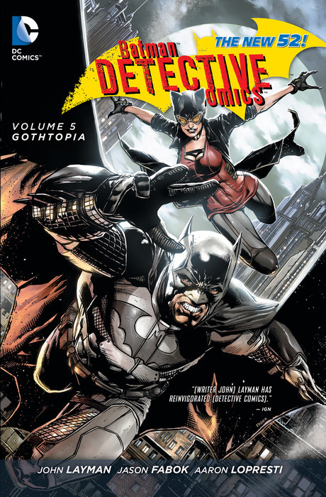 Batman: Detective Comics Vol. 5: Gothtopia (The New 52)