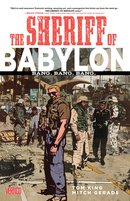 The Sheriff of Babylon Vol. 1: Bang. Bang. Bang.