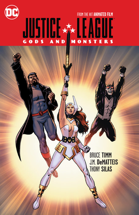 Justice League Gods And Monsters Penguin Random House Retail