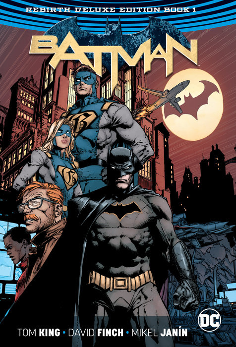 Batman: The Rebirth Deluxe Edition Book 1 (Rebirth)