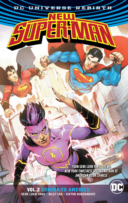 New Super-Man Vol. 2: Coming to America (Rebirth)