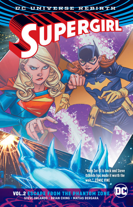 Supergirl Vol. 2: Escape from the Phantom Zone (Rebirth)
