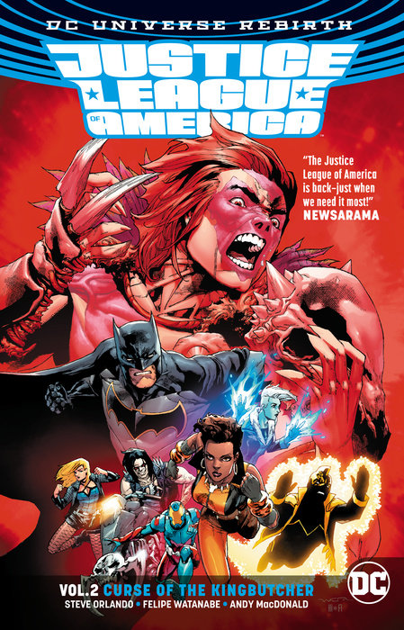 Justice League of America Vol. 2: Curse of the Kingbutcher (Rebirth)