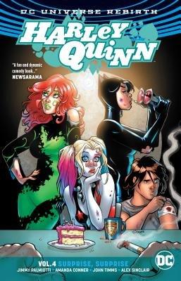 Harley Quinn Vol. 4: Surprise, Surprise (Rebirth)
