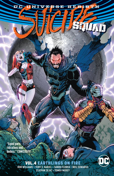 Suicide Squad Vol. 4: Earthlings on Fire (Rebirth)