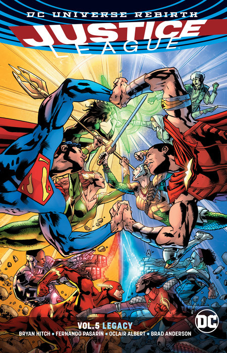 Justice League Vol. 5: Legacy (Rebirth)