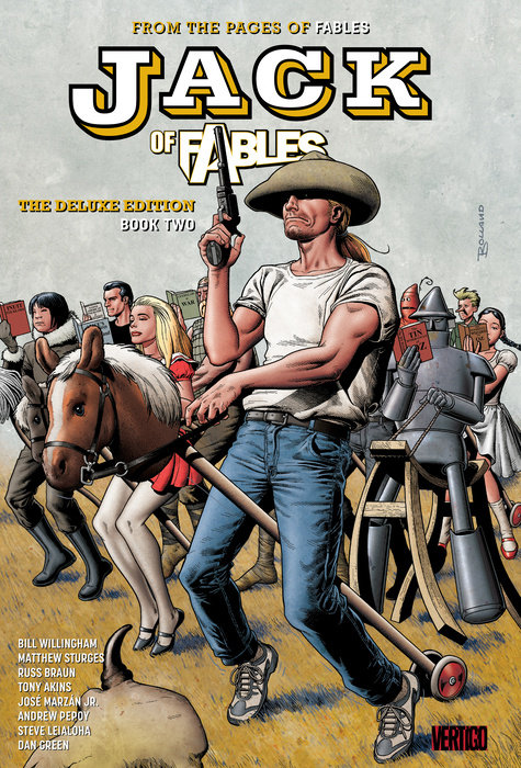 Jack of Fables: The Deluxe Edition Book Two