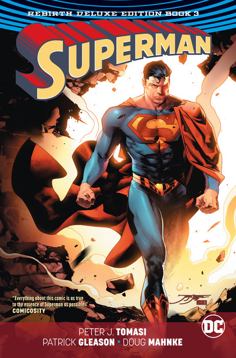 Superman: The Rebirth Deluxe Edition Book 3