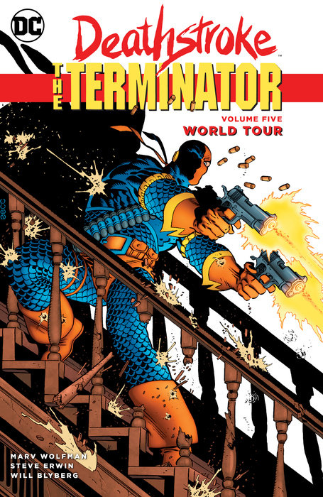 Deathstroke, The Terminator Vol. 5: World Tour