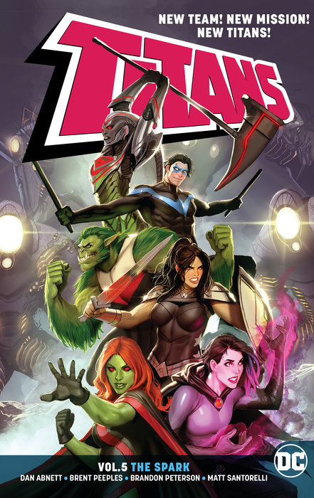 Titans Vol. 5: The Spark