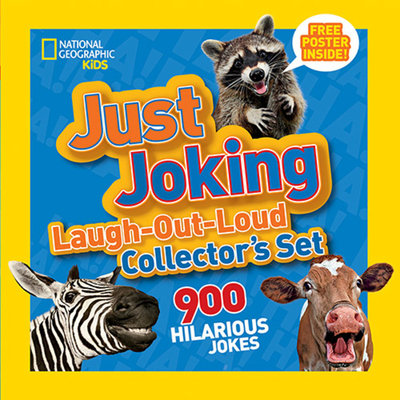 National Geographic Kids Just Joking Laugh-Out-Loud Collector's Set