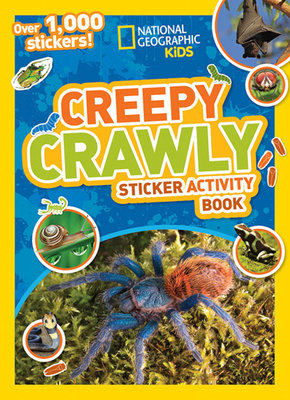 National Geographic Kids Creepy Crawly Sticker Activity Book