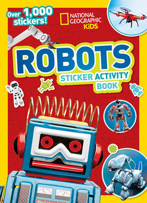 National Geographic Kids Robots Sticker Activity Book