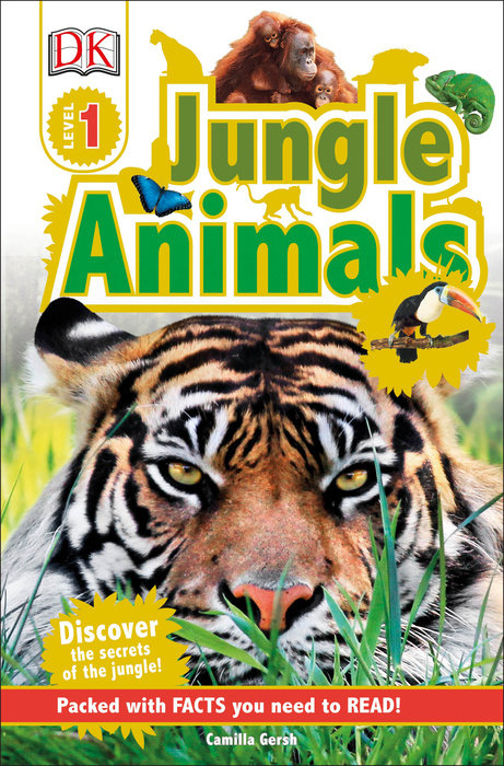 DK Readers L1: Jungle Animals