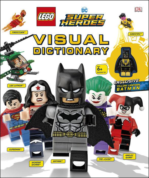 LEGO DC Comics Super Heroes Visual Dictionary