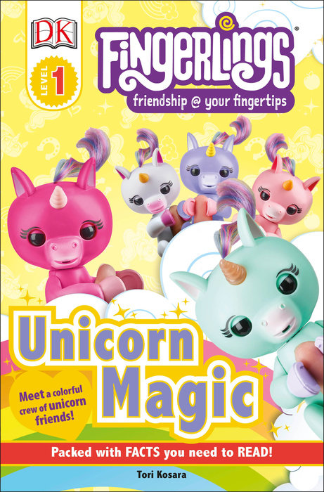 DK Readers Level 1: Fingerlings Unicorn Magic