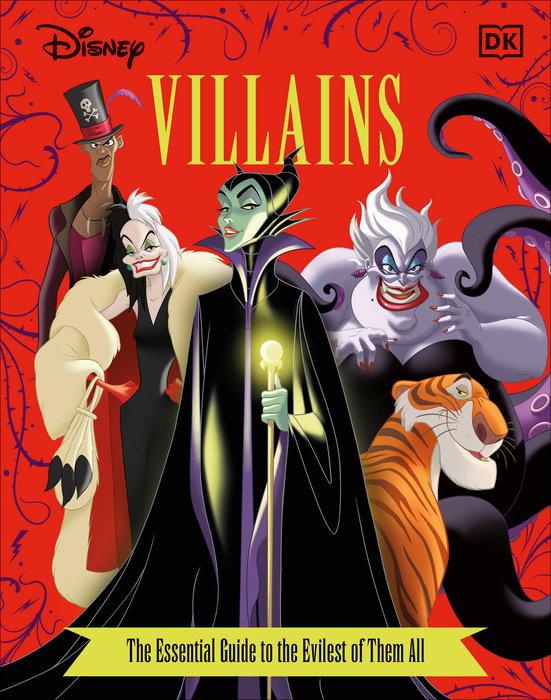 Disney Villains The Essential Guide, New Edition