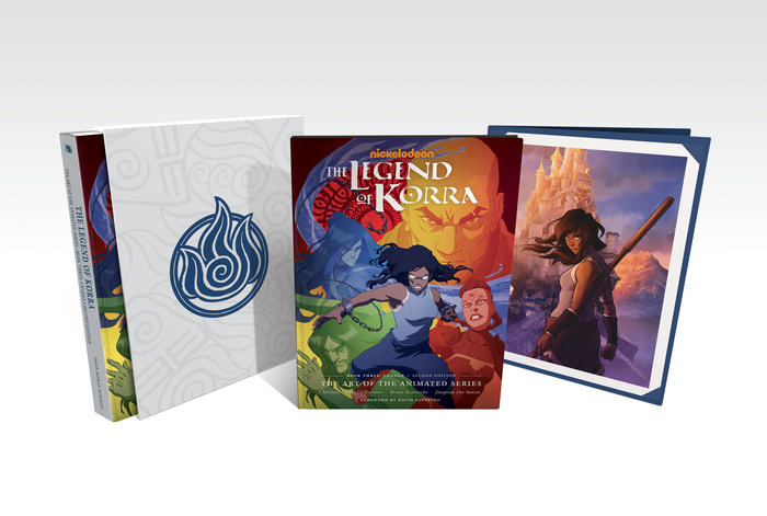 The Legend of Korra: The Art of the Animated Series--Book Three: Change (Second Edition) (Deluxe Edition)