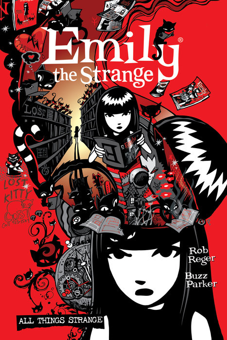The Complete Emily the Strange: All Things Strange (Second Edition)