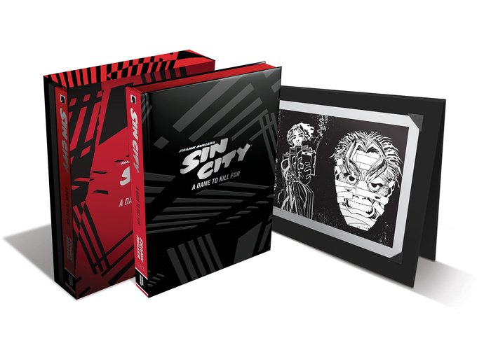 Frank Miller's Sin City Volume 2: A Dame to Kill For (Deluxe Edition)