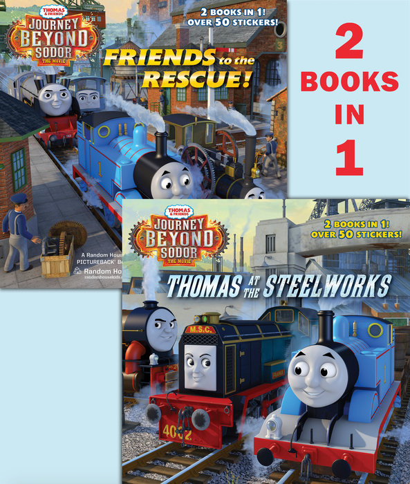 Thomas at the Steelworks/Friends to the Rescue (Thomas & Friends: Journey BeyondSodor)