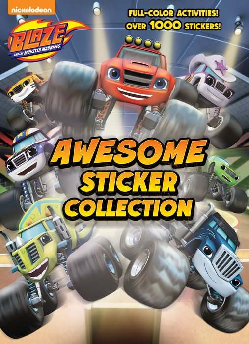 Blaze and the Monster Machines Awesome Sticker Collection (Blaze and the MonsterMachines)