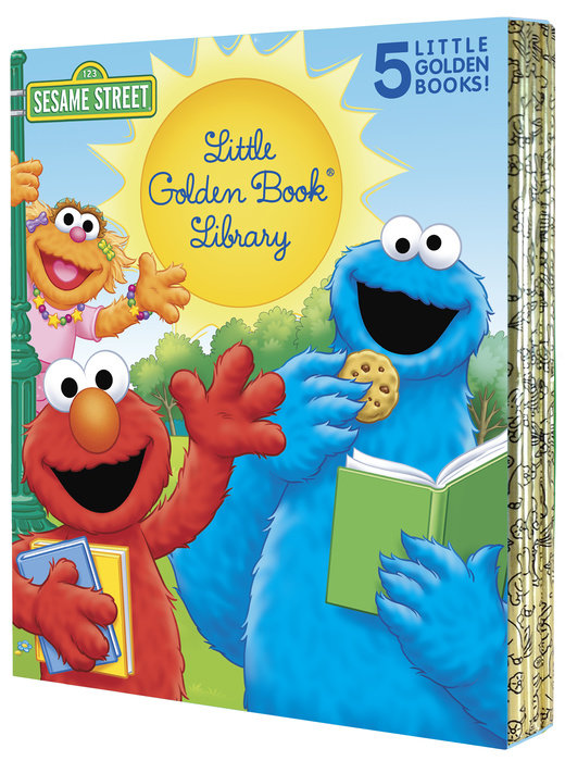 Sesame Street Little Golden Book Library 5-Book Boxed Set