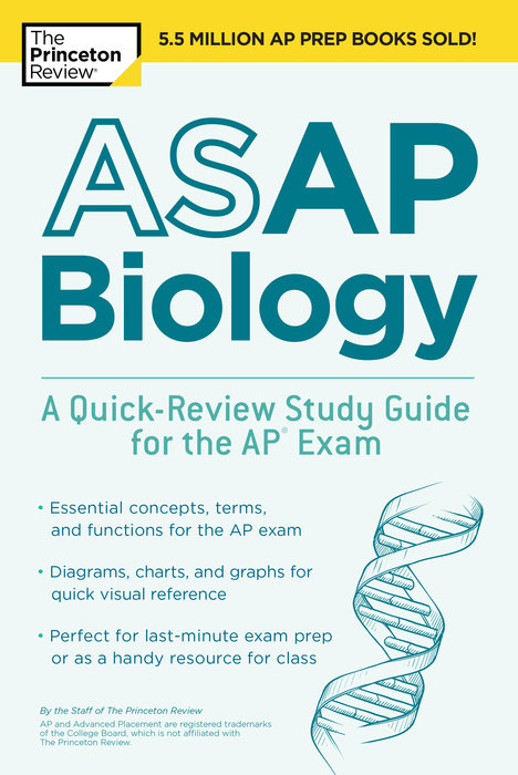 ASAP Biology: A Quick-Review Study Guide for the AP Exam
