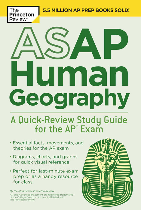 ASAP Human Geography: A Quick-Review Study Guide for the AP Exam