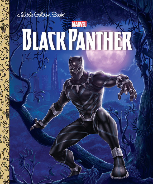Black Panther Little Golden Book (Marvel: Black Panther)