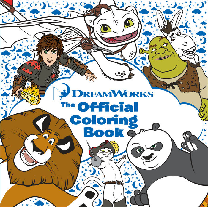 DreamWorks: The Official Coloring Book