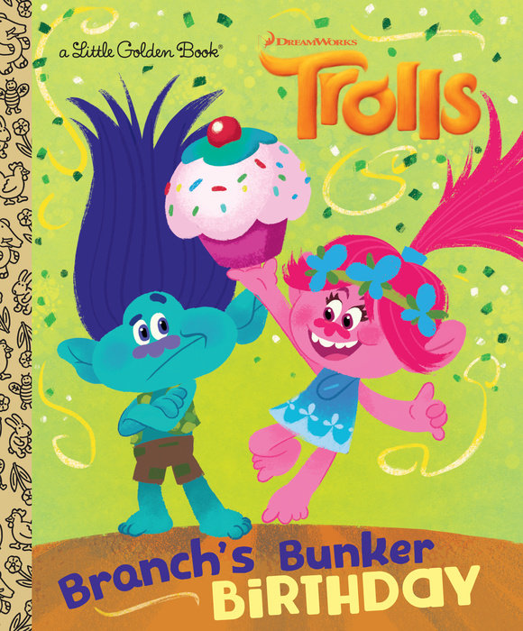 Branch's Bunker Birthday (DreamWorks Trolls)