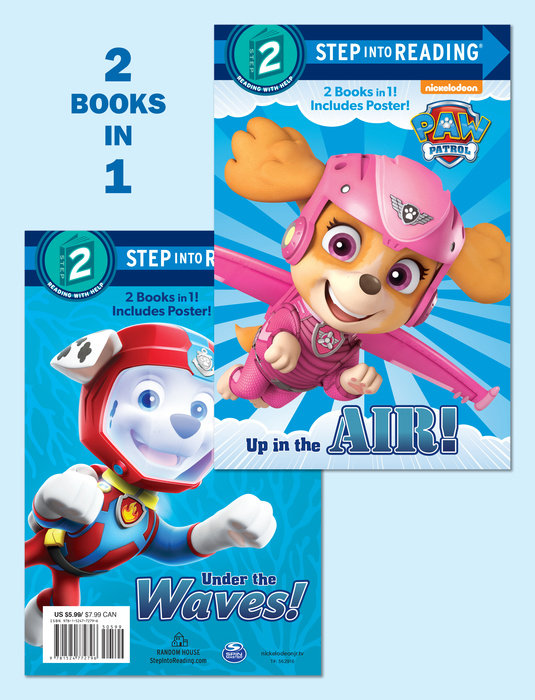 Up in the Air!/Under the Waves! (PAW Patrol)