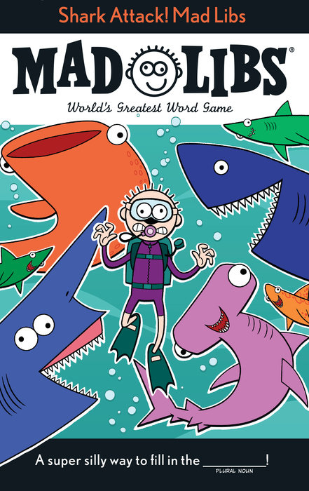 Shark Attack! Mad Libs