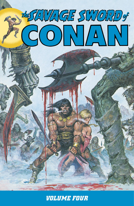 Savage Sword of Conan Volume 4