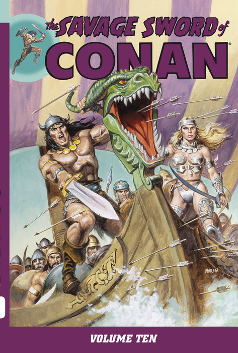Savage Sword of Conan Volume 10
