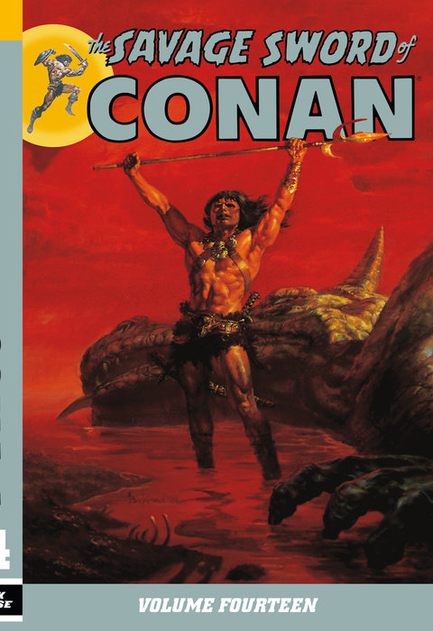 Savage Sword of Conan Volume 14