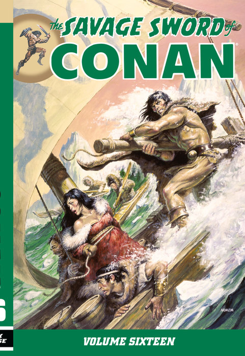 Savage Sword of Conan Volume 16
