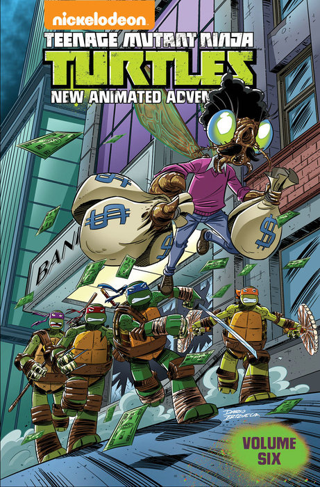 Teenage Mutant Ninja Turtles: New Animated Adventures Volume 6