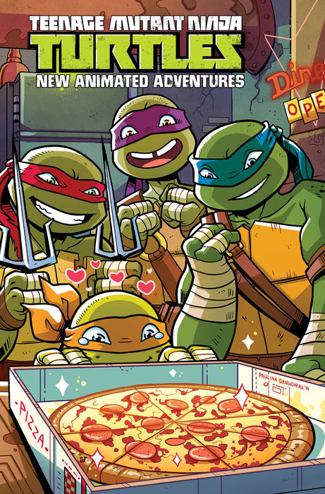 Teenage Mutant Ninja Turtles: New Animated Adventures Omnibus Volume 2