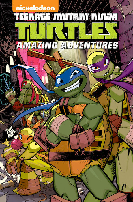 Teenage Mutant Ninja Turtles: Amazing Adventures Volume 4