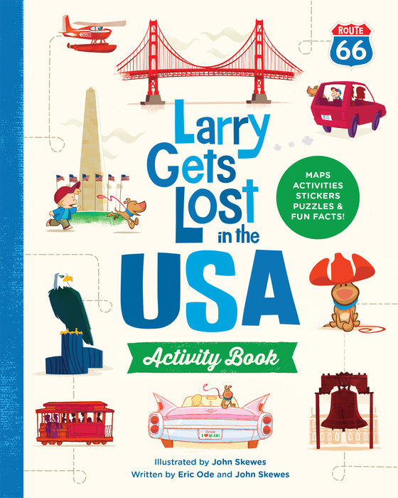 Larry Gets Lost in the USA Activity Book