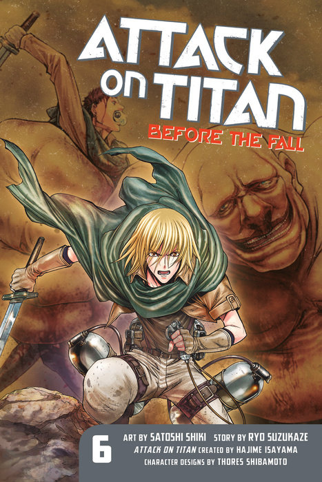 Attack on Titan: Before the Fall 6