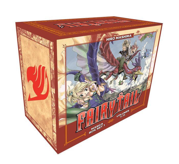 FAIRY TAIL Manga Box Set 1
